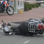 schade ongeval scooter
