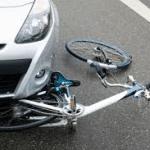 schade na aanrijding fietser en auto